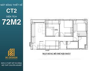 Mặt bằng thiết kế căn hộ CT2 Nha Trang