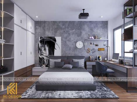 Thiết kế phòng ngủ trẻ em nhà phố Nha Trang 200m2 - IKI200068