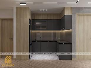 Thiết kế nội thất căn hộ HUD Building Nha Trang 66m2 - IKI200000