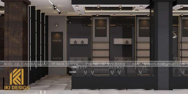 Thiết kế nội thất Showroom Làng Yến Nha Trang - IKI200000
