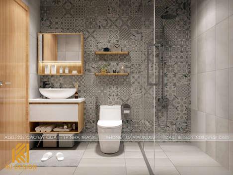 Thiết kế restroom căn hộ CT4 Nha Trang 73m2 - IKI200050