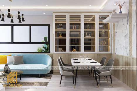 Thiết kế phòng bếp căn hộ CT4 Nha Trang 80m2 - IKI200074