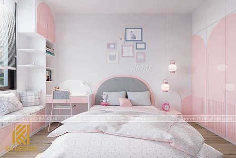 Thiết kế phòng ngủ trẻ em nhà phố Nha Trang 270m2 - IKI200045