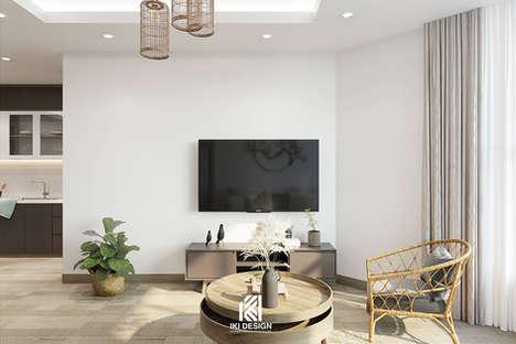 Thiết kế nội thất căn hộ Nha Trang 95m2 - IKI200056