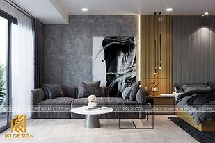 Thiết kế nội thất căn hộ Gold Coast Nha Trang 55m2 - IKI200052