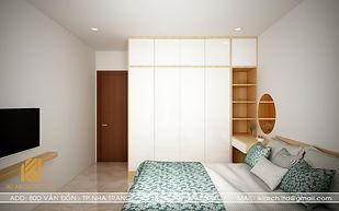 Thiết kế nội thất căn hộ MTVT OC3 Nha Trang 65m2 - IKI200012