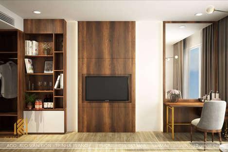 Thiết kế phòng khách căn hộ Panorama Nha Trang - IKI190023