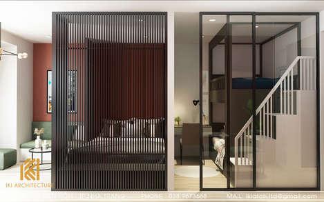 Thiết kế phòng ngủ trẻ em căn hộ Gold Coast Nha Trang 65m2 - IKI200002