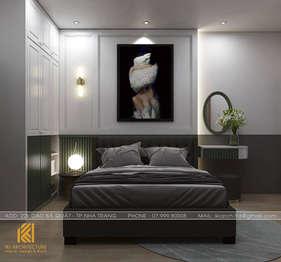 Thiết kế phòng ngủ  master căn hộ PH Nha Trang - IKI200034