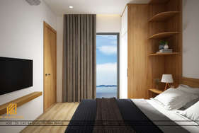 Thiết kế phòng ngủ master căn hộ MTVT OC3 65m2 - IKI200006