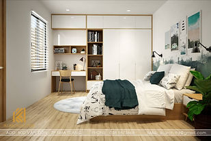 Thiết kế nội thất nhà phố Vạn Giã Nha Trang 300m2 - IKI190018