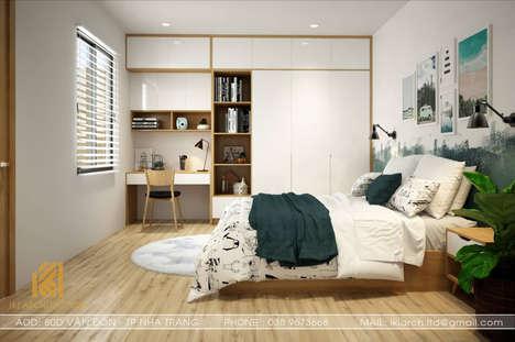 Thiết kế phòng ngủ trẻ em nhà phố Nha Trang 120m2 - IKI190018