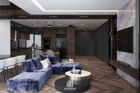 Thiết kế nội thất căn hộ 95m2 Nha Trang - IKI200000