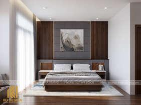 Thiết kế phòng ngủ master nhà phố Nha Trang 200m2 - IKI200068
