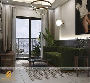 Thiết kế nội thất căn hộ PH Nha Trang - IKI200034