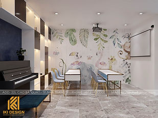 Thiết kế nội thất nhà phố  Nha Trang 200m2 - IKI200000