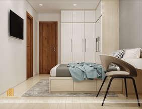 Thiết kế phòng ngủ master căn hộ CT2 VCN Nha Trang 65m2 - IKI200001