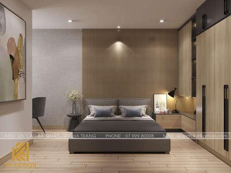 Thiết kế phòng ngủ trẻ em căn hộ HUD Nha Trang 66m2 - IKI200000