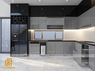 Thiết kế nội thất nhà phố Mỹ Gia Nha Trang 280m2 - IKI200047