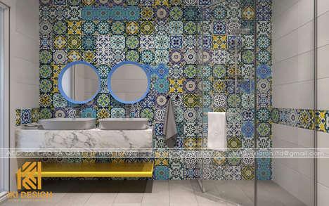 Thiết kế restroom nhà phố Nha Trang 200m2 - IKI200000
