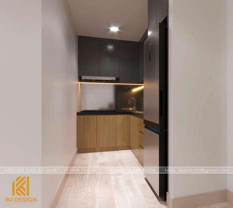 Thiết kế phòng bếp căn hộ Gold Coast Nha Trang 55m2 - IKI200052