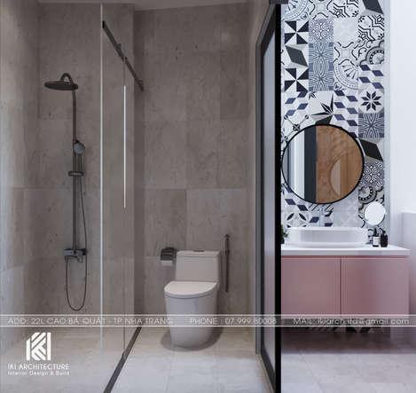Thiết kế restroom nhà phố Nha Trang 150m2 - IKI200040