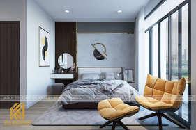 Thiết kế phòng ngủ master nhà phố Nha Trang 270m2 - IKI200045