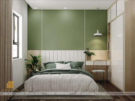 Thiết kế phòng ngủ trẻ em căn hộ CT2 VCN Nha Trang - IKI200009