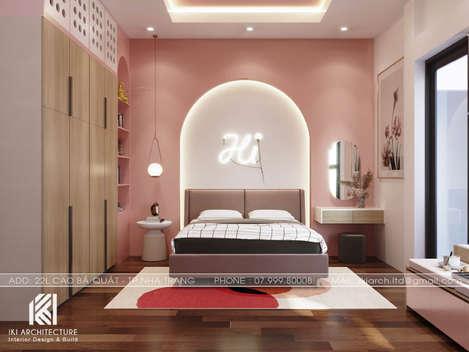Thiết kế phòng ngủ trẻ em nhà phố Nha Trang 150m2 - IKI200040