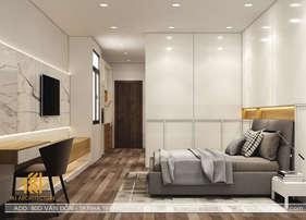 Thiết kế phòng ngủ master nhà phố Nha Trang - IKI200013