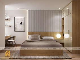 Thiết kế phòng ngủ master căn hộ CT4 Nha Trang - IKI200042