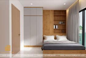 Thiết kế phòng ngủ master căn hộ MTVT Nha Trang 65m2 - IKI200014