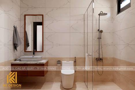 Thiết kế restroom nhà phố  Nha Trang200m2 - IKI200056