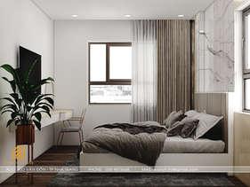 Thiết kế phòng ngủ master căn hộ CT2 VCN Nha Trang - IKI200009