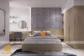 Thiết kế phòng ngủ master căn hộ CT4 Nha Trang 80m2 - IKI200074