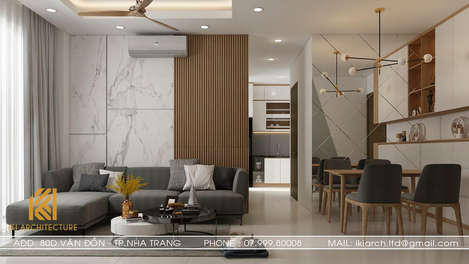 Thiết kế nội thất căn hộ CT2 VCN Nha Trang - IKI200010