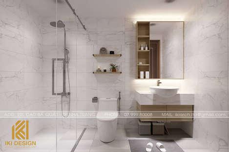 Thiết kế restroom căn hộ CT4 Nha Trang 80m2 - IKI200074