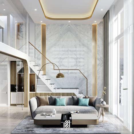 Thiết kế phòng khách căn hộ HIEMEDIA Nha Trang 9m2 - IKI210010