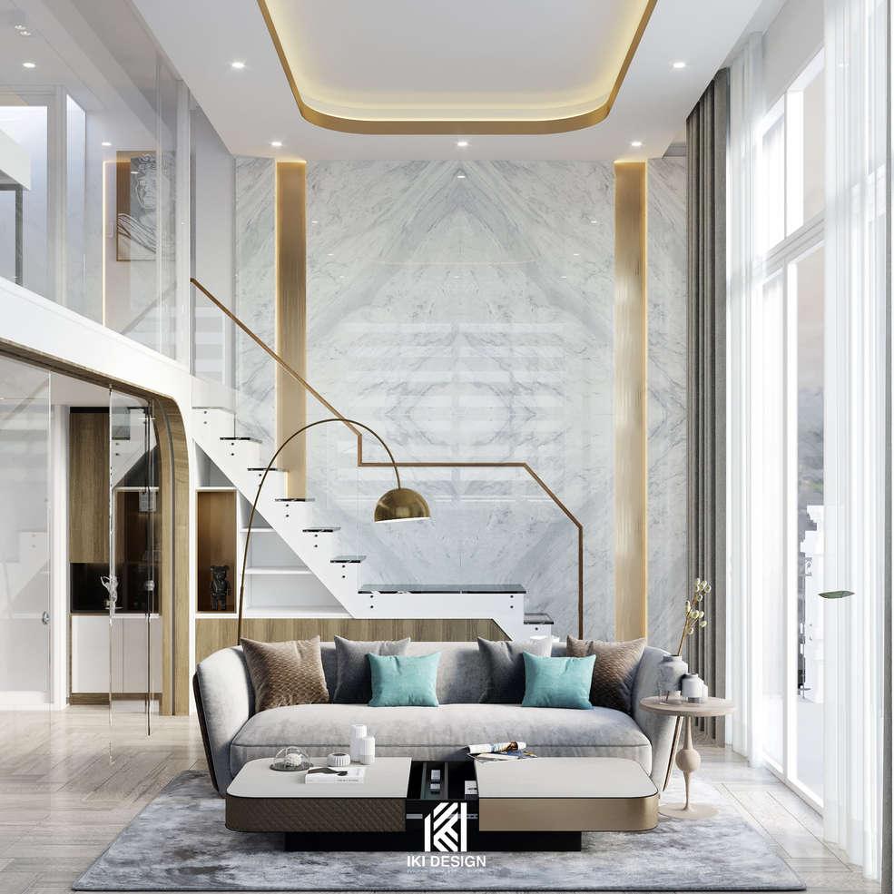 Thiết kế căn hộ HIE MEDIA Nha Trang 90m2 - IKI210060