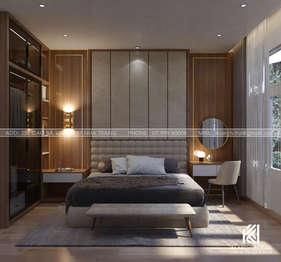 Thiết kế phòng ngủ master nhà phố Nha Trang 150m2 - IKI200035