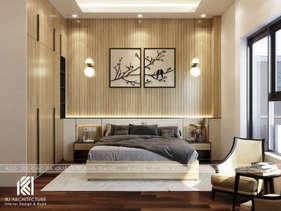 Thiết kế phòng ngủ master nhà phố Nha Trang 150m2 - IKI200040