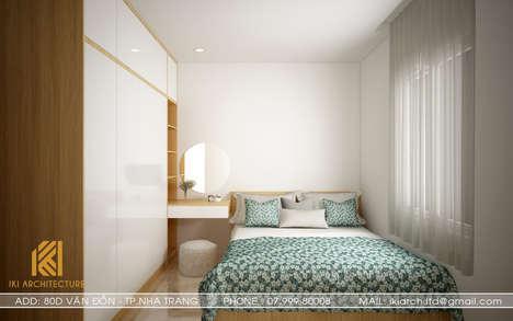 Thiết kế phòng ngủ trẻ em căn hộ MTVT OC3 Nha Trang 65m2 - IKI200012