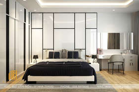Thiết kế phòng ngủ master nhà phố Nha Trang 200m2 - IKI190030