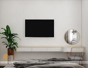 Thiết kế nội thất căn hộ CT2 VCN Nha Trang - IKI200009