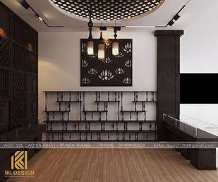 Thiết kế nội thất showroom Làng Yến Nha Trang 95m2 - IKI200000