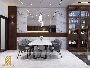 Thiết kế nội thất nhà phố Nha Trang 200m2 - IKI200068