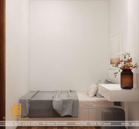 Thiết kế phòng ngủ trẻ em căn hộ CT2 VCN Phước Hải Nha Trang 50m2 - IKI200005
