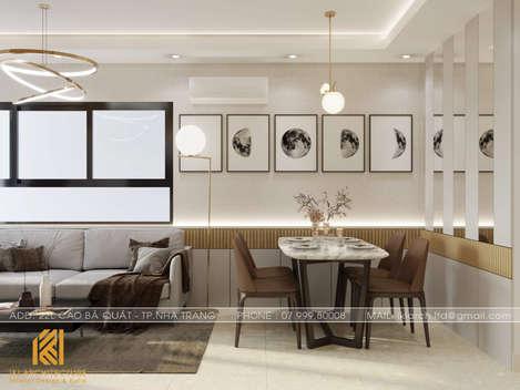 Thiết kế nội thất căn hộ CT4 Nha Trang - IKI200042