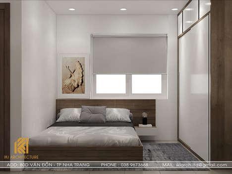 Thiết kế phòng ngủ trẻ em căn hộ CT2 VCN Phước Hải Nha Trang 65m2 - IKI200027