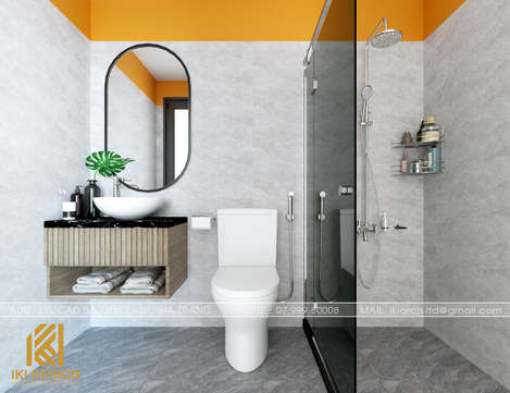 Thiết kế restroom căn hộ PH Nha Trang 62m2 - IKI200069